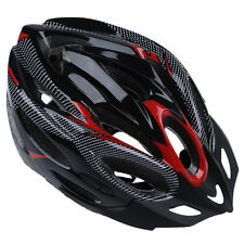 JSZ Sports Bike Bicycle Cycling Safety Helmet with Visor Adult Red DT
