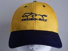 Thuro-Bilt Horse Trailers Yellow Navy Blue Baseball Cap Hat