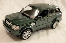 "RMZ City - 5"" Scale Model Land Rover Range Rover Sport Green (BBUF555007G)"