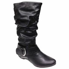 Women's Textile Slip on Ankle Boots