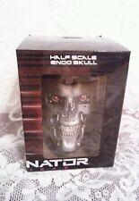 2015 Terminator Genisys LootCrate Exclusive Half Scale Endo Skull NIB