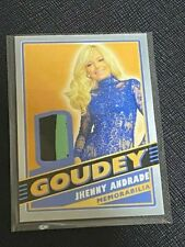 2020 Goodwin Champions Jhenny Andrade Goudey Patch Relic Card 1:300 MODEL