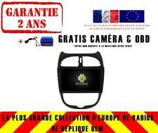 AUTORADIO DVD GPS NAVI ANDROID 9.0 DAB+ WIFI USB POUR PEUGEOT 206 RD5377