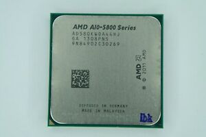AMD A10-5800K 3.8GHz Quad-Core (AD580KWOA44HJ) Processor w/Grease