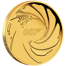 Tuvalu - 50 Dollar 2020 - James Bond 007™ - im Etui - 1/4 Oz Gold PP