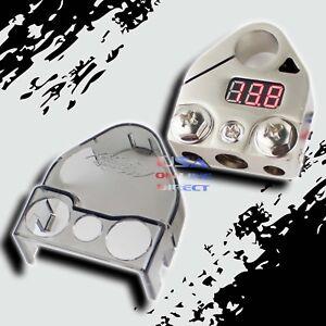 Digital Battery Terminal Car Audio Amp Install Battery Power Post Marine Grade