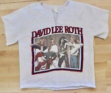 Rare 1986 Vintage David Lee Roth Rules T-Shirt Medium