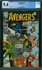 Avengers #74 CGC 9.4 -- 1970 -- Black Panther Vision.  A+ cover wrap #1621575009