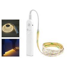1- 3m wireless PIR Motion Sensor LED Bed Closet Night light 5V 2835 AAA Battery