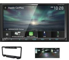 Kenwood DMX9707S 2 DIN Media Player Wireless Android CarPlay SiriusXM Bluetooth