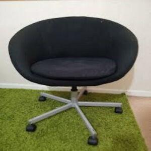 Desktop Chair Black