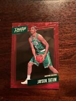 JAYSON TATUM 2017-18 PANINI PRESTIGE #3 RED ROOKIE CARD BOSTON CELTICS RC