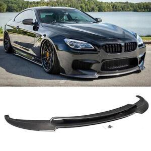 Carbon Fiber Front Bumper Lip Chin Spoiler for BMW 6 Series F06 F12 F13 M6 14-18