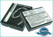 3.7V battery for Casio Exilim EX-ZR700PKC, Exilim EX-ZR400, Exilim EX-ZR310RD