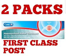 2 X HAEMORRHOID Hemorrhoid Piles,RELIEF OINTMENT CREAM 25g.FREE FIRST CLASS POST