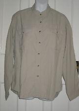 Women's Petite Button Down Collar No Pattern Polyester Tops & Shirts