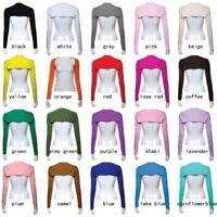 Womens Muslim Hijab Islamic Modal Cotton Shoulder Long Sleeve Arm Cover Sport