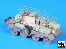 Black Dog 1/72 Funkspahwagen Sd.Kfz.263 Stowage Accessories (Dragon 7444) T72058