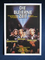 Filmplakatkarte cinema   Die bleierne Zeit   Barbara Sukowa
