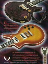 The Dean European Custom Series Guitar 1998 ad 8 x 11 advertisement print