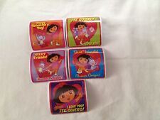5 Dora Valentine  Stickers Party Favors