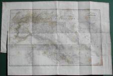 Italia. Carta geografica. Italie Pittoresque, anno 1837