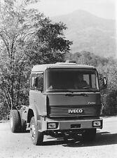 PHOTO PRESS ORIGINALE AUTOCARRO FIAT IVECO 190.26 T - 1987