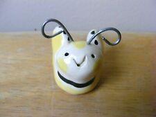 Little Guys Bee Miniature Animal Figurine Cindy Pacileo Pottery