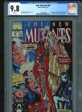 New Mutants #98 CGC 9.8 (1991) First 1st Deadpool (Wade Wilson) Gideon & Copycat