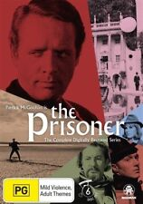The Prisoner Digitally Restored Series DVD 7-Disc Set R4 Patrick McGoohan