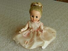 """Vintage Hard Plastic Blonde Doll 11"""" Tall Movable Arms and Legs."""