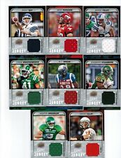 2015 Upper Deck CFL Football Game Jersey GJ-SG SJ Green Montreal Alouettes