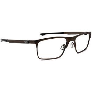 Oakley Eyeglasses OX5137-0254 Cartridge Pewter Rectangular Metal Frame 54-17 137