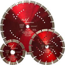 PREMIUM Diamant-Trennscheibe 125 - 350 mm Stahl-Beton Wasch Ziegel Universal
