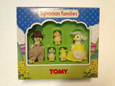 Sylvanian Families Duck Family 5 menbers Unused and boxed. Rare vintage TOMY