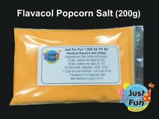 200g Butter Popcorn Salt. Cinema Quality Popcorn Salt for Popcorn Machine