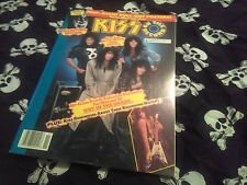 Kiss On The Record Magazine-1990.