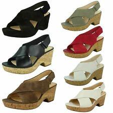 Clarks Maritsa Lara Platform Sandals