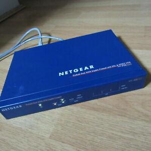 Gigabit NetGear ProSafe FVS336G_ProdSafe Dual WAN Gigabit Firewall SSL&IPsec VPN