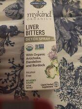 Garden of Life MyKind Organics Liver Bitters Detox Spray 2 fl oz 58 ml Exp 3/20