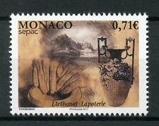 Monaco 2017 MNH Handicrafts SEPAC Pottery 1v Set Crafts Stamps