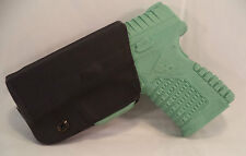 Springfeild XDS 3.3 Custum Black Kydex Gun Holster IWB Right Hand LH OWB