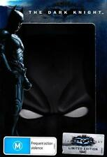The Dark Knight DVD 2 Disc Movie Limited Edition Batman Mask Case R4