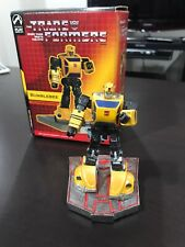 Transformers G1 BUMBLEBEE Mini Polystone STATUE PALISADES In Box Great Cond