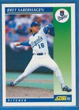 Bret Saberhagen, 1992 Score #6, Royals