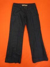 FREEMAN T PORTER Pantalon Femme Taille 25 US - Modèle Slay - Lin - noir