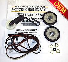 Whirlpool Kenmore Roper Maytag Estate Dryer Repair Kit (Check Model Fit List)