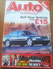 Auto Trader Style Weekly Magazine 5th May 2005 Skoda Superb on the cover