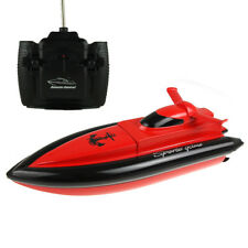 4CH High Speed Remote Control RC Boat Kids Children Toy for Lake Pool Red