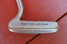 "Vintage JERRY BARBER GOLDEN TOUCH Putter 34"" RH"